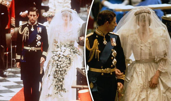 Princess Diana married Prince Charles in 1981 Photo (C) GETTY