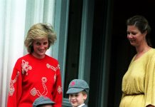 Princess Diana took both William and Harry on their first days [Photo PA]