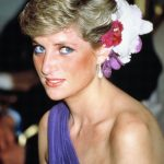 Princess Diana with her signature look Getty