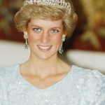 Princess Diana wore electric blue eyeliner Getty