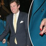 Princess Eugenie was seen with her boyfriend sporting a ring on her engagement finger Photo C XPOSURE
