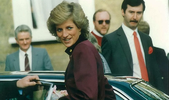 She and her mother travelled to London for the funeral some 20 years ago Photo (C) GETTY