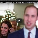 The Cute Thing Kate Middleton Does When Prince William Isnt Looking