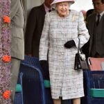 The Queen right and Prince Philip left looked to be enjoying themselves at the Braemar Gathering at The Princess Royal Duke of Fire Memorial Park