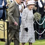 The Queen was joined by Prince Charles