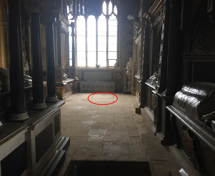 6 The area where claims have suggest Diana is really buried inside St Mary the Virgin church Great Brington Photo C DAILYSTAR NICHOLAS BIEBER