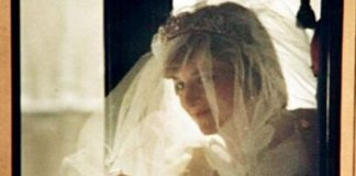 The never before published photo of Princess Diana on her wedding day Photo C STEPHEN HUNTLEY