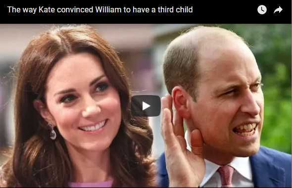 The way Kate convinced William to have a third child