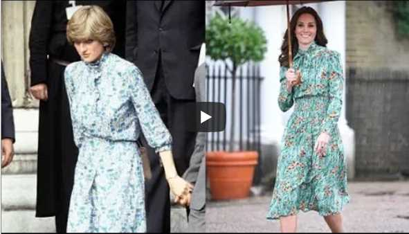 There's a Hidden Meaning to the Dress Kate Middleton Wore to Honor Diana