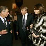 This is not the Trumps first encounter with royalty. In November 2005 the President and First Lady then just a newlywed couple met Harrys father Prince Charles