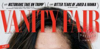 Vanity Fair cover photo of Meghan Marble (PETER LINDBERGH)