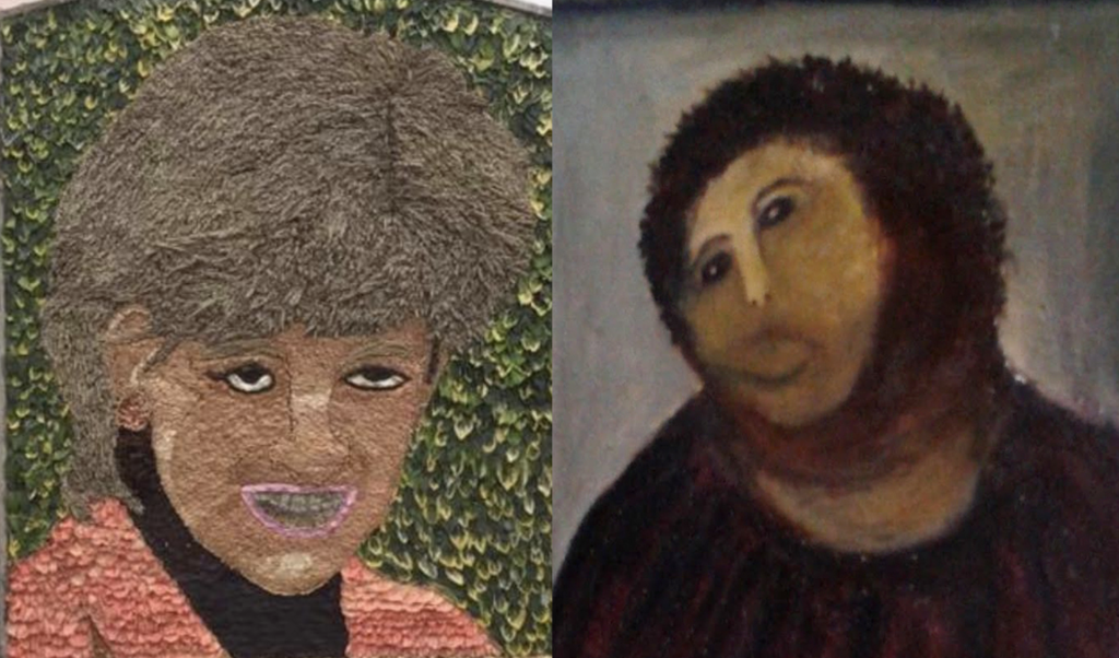Was the Fresco Jesus lady involved in some capacity Photo (C) GETTY IMAGES