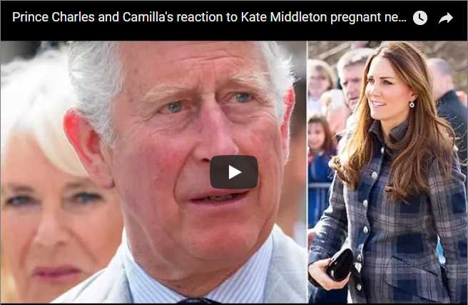 Watch Video Prince Charles and Camillas reaction to Kate Middleton pregnant news