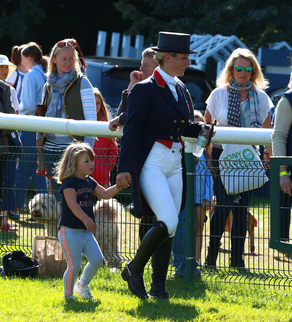 Zara is competing in a three-day event at the Burghley Horse Trials Photo (C) PAUL MARRIOTT, REX, SHUTTERSTOCK