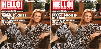 the story behind the Duchess of York's incredible new look Photo (C) HELLO MAGAZINE