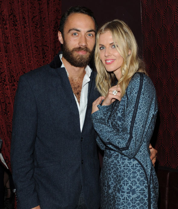 James Middleton The businessman was dating Donna for three years Photo (C) GETTY