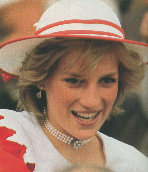 Princess Diana Jewelry Photo (C) GETTY IMAGES