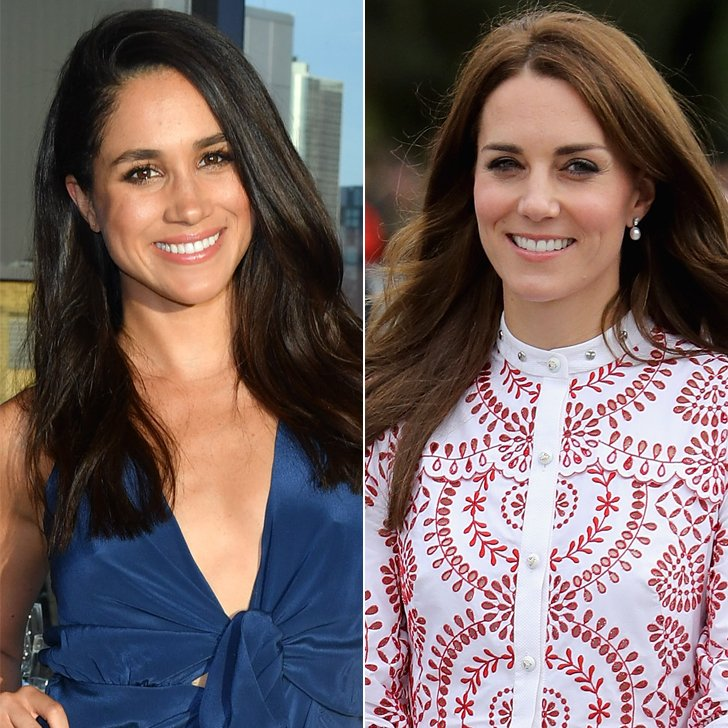 Catherine Duchess of Cambridge and Meghan Markle Photo (C) GETTY IMAGES