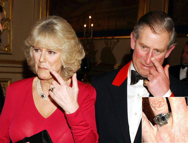 When Prince Charles proposed to Diana, he still hadn't bought a ring. Diana was given several rings to choose from Garrard Jewellers Photo (C) GETTY IMAGES