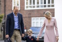 Prince George's first day of school Photo (C) GETTY