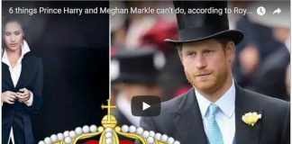 6 things Prince Harry and Meghan Markle can't do, according to Royal rules