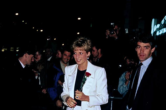 David Butler met Princess Diana various times Photo C GETTY