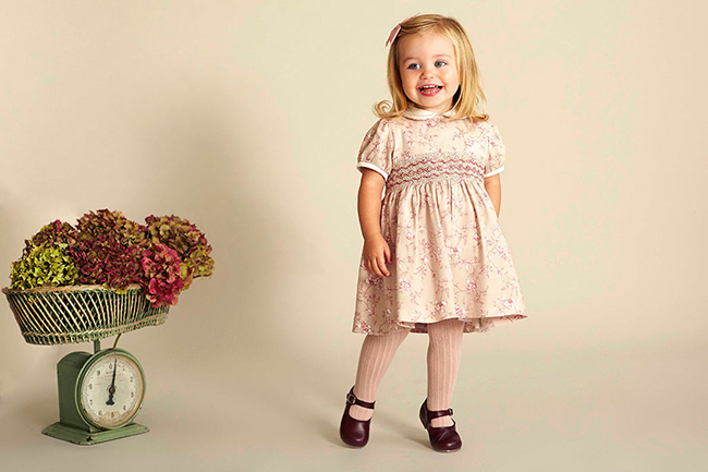Adorable dresses feature in the brand's Autumn Winter collection Photo (C) GETTY