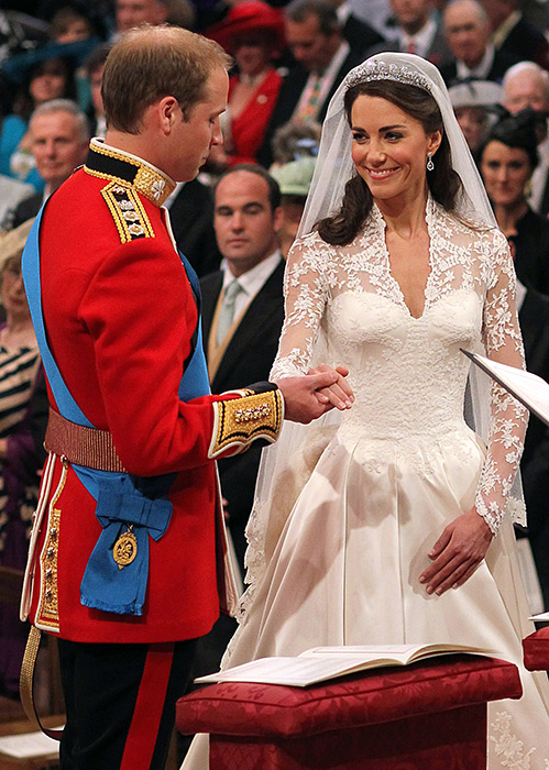 Anthony Gordon Lennox coached Duchess Kate ahead of her 2011 wedding to Prince William Photo (C) GETTY