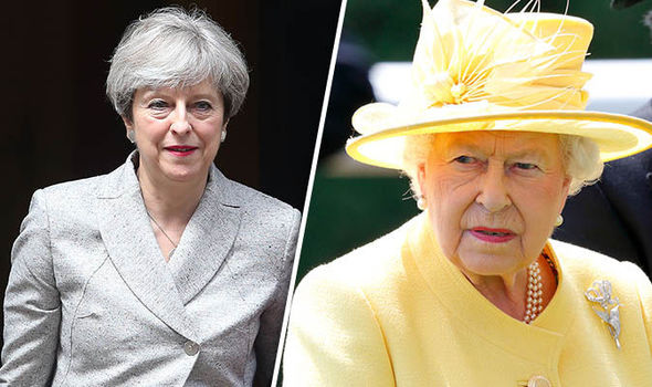 Buckingham Palace was furious with Theresa May's behaviour after the General Election Photo C GETTY
