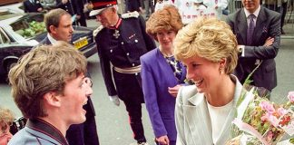 David Butler met Princess Diana various times Photo (C) GETTY