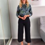 Holly Willoughby looked fantastic in a floral print Markus Lupfer blouse Photo C GETTY