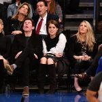 Jack Brooksbank Princess Eugenie of York and Ellie Goulding attend the Brooklyn Nets Vs New York Knicks game at Madison Square Garden Photo C GETTY IMAGES