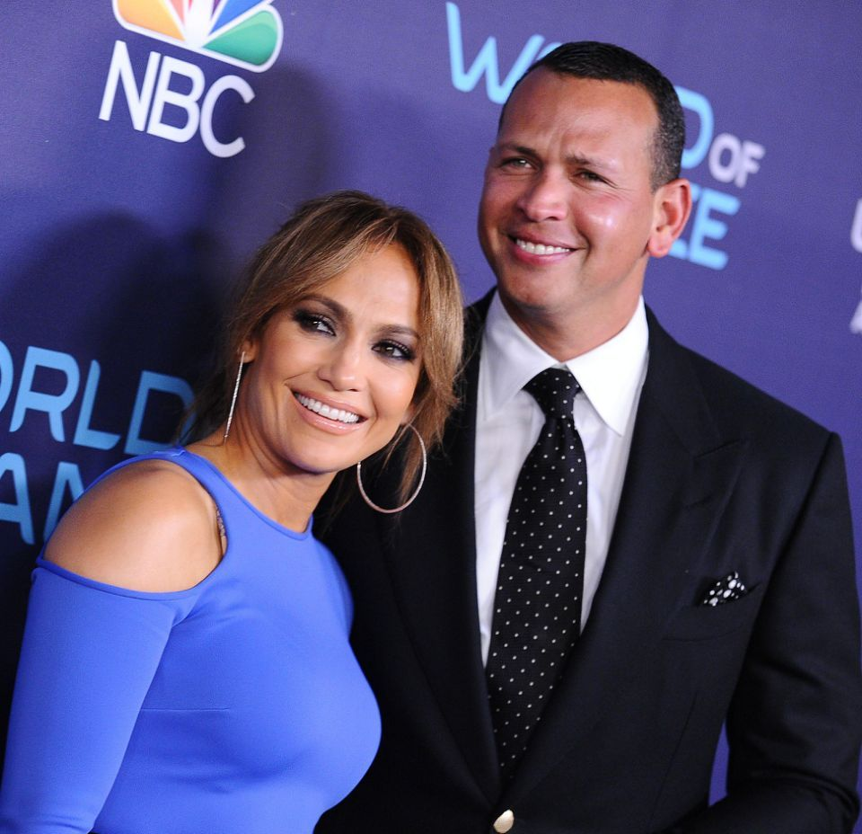 Jennifer Lopez Alex Rodriguez Photo (C) GETTY
