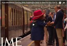 Kate Middleton Dancing With Paddington Bear Is Here So You Can Start The Week Off Right