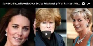 Kate Middleton Reveal About Secret Relationship With Princess Diana's Sister Lady Sarah McCorquodale