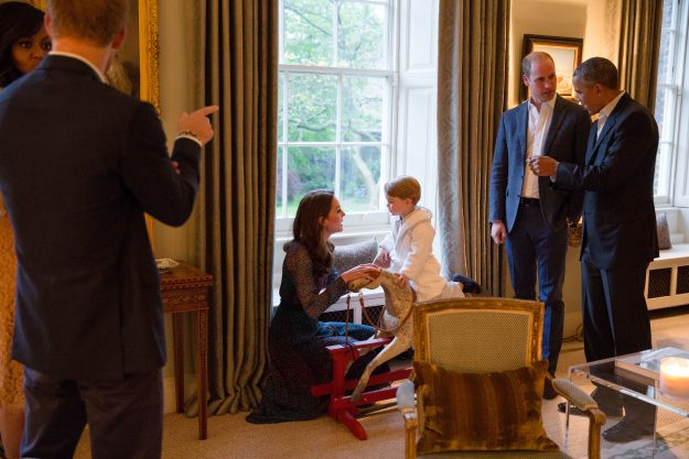 Kate Middleton and Prince William often entertain guests from their apartment in Kensington Palace [Getty]