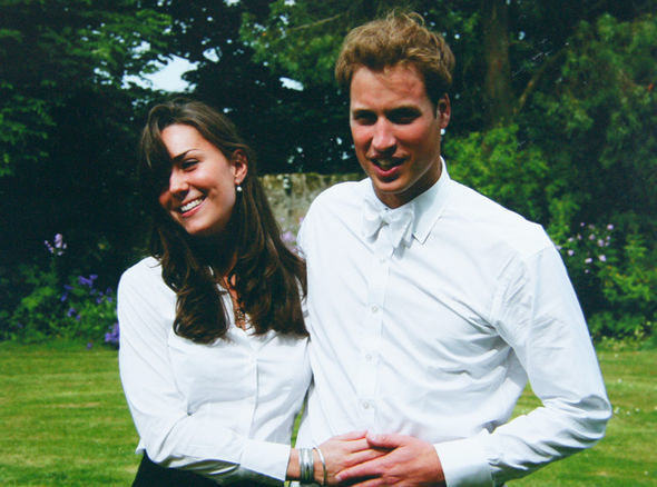 Kate Middleton and Prince William on graduation day Photo (C) THE MIDDLETON FAMILY