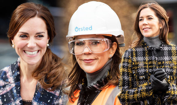 Kate Middleton copycat Princess Mary of Denmark channels the Duchess of Cambridge's style Photo (CKate Middleton copycat Princess Mary of Denmark channels the Duchess of Cambridge's style Photo (C) GETTY) GETTY
