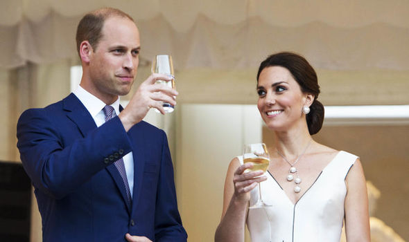 Kate and William were all smiles in Warsaw Photo (C) GETTY