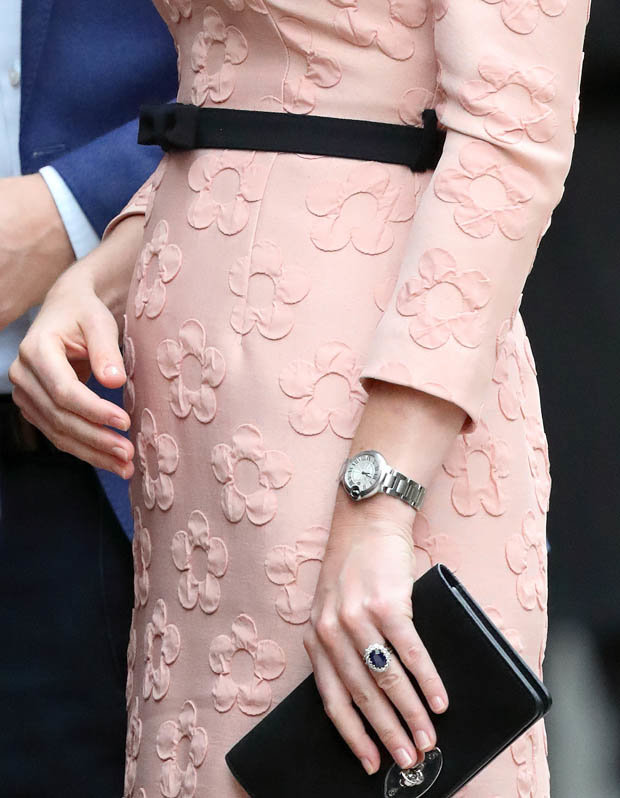 Kate does not paint her nails as its deemed as vulgar Photo C GETTY
