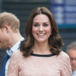Kate dresses for pregnancy in practical £335 heels Photo C GETTY