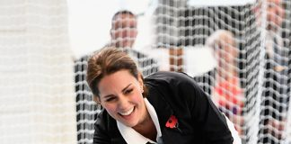 Kate opened up about her son at a visit to the Lawn Tennis Association Photo (C) GETTY