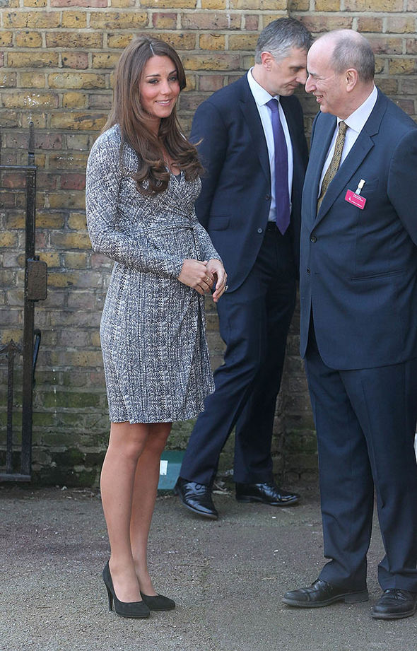 Kate's first pregnancy was announced in December 2012 Photo (C) GETTY