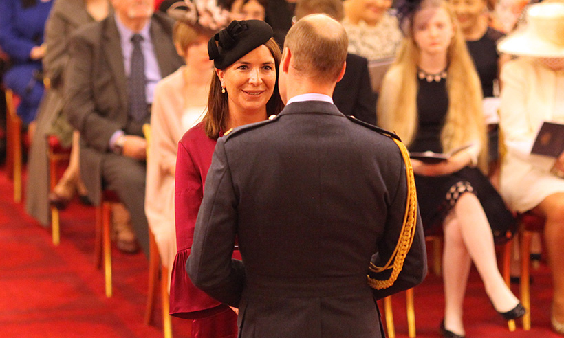 Kates former private secretary Rebecca Priestley receives royal honour Photo C GETTY
