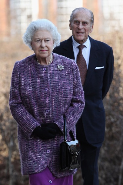 LONDON, ENGLAND - MARCH 15: Queen Elizabeth II and Prince Philip, Duke Of Edinburgh arrive for the official reopening of Kensington Palace on March 15, 2012 in London, England. After a GBP 12 million refurbishment, the historic royal palace will reopen to the public on March 26, and later in the year will become home to Prince William, Duke of Cambridge and Catherine, Duchess of Cambridge. (Photo by Dan Kitwood - WPA Pool/Getty Images)