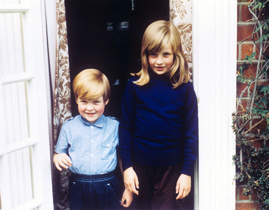 Lady Diana & Charles Spencer Photo (C) GETTY