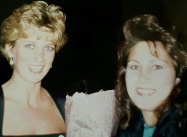 Lisa MacLennan, from Canada, met Diana in 1992 Photo (C) GETTY