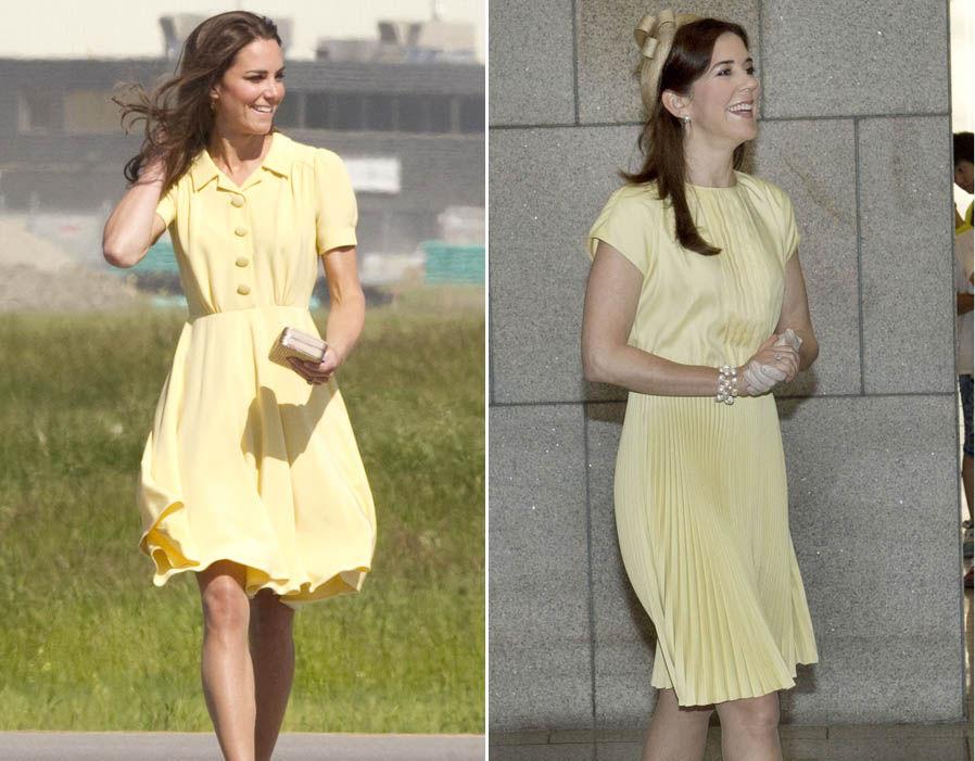 Looking lovely in lemon Photo (Looking lovely in lemon Photo (C) REXC) REX
