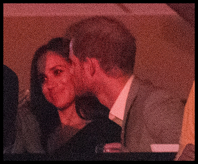 Meghan Markle and Prince Harry share a kiss at the Invictus Games in Canada Photo (C) GETTY IMAGES