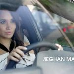 Meghan Markle pictured here in a TV advert has dropped the biggest hint of a Royal wedding having been photographed in a VW on her increasingly frequent visits to London